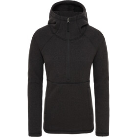 The North Face Crescent Hoody Damen tnf black heather